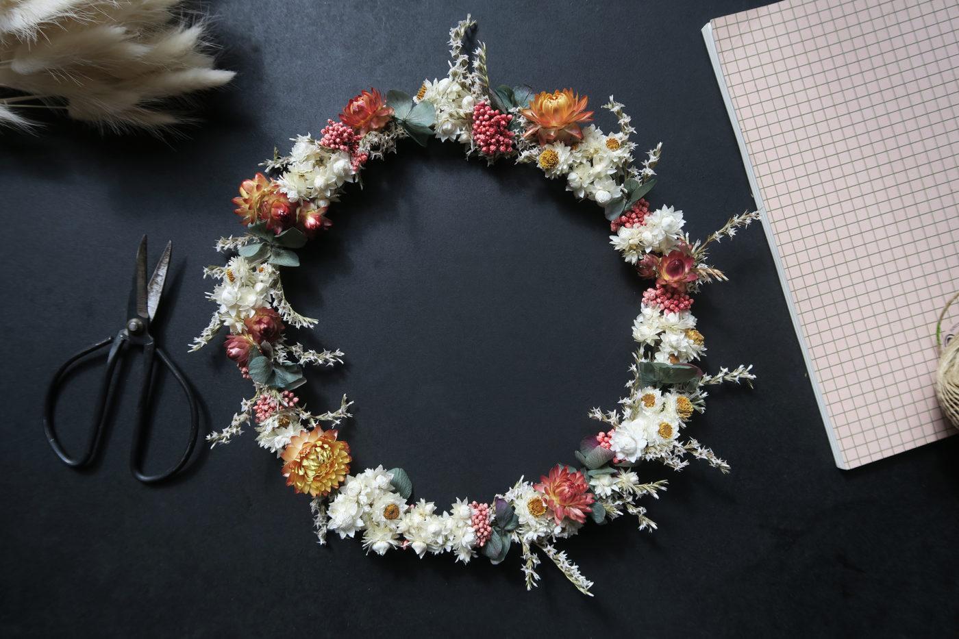 couronne de fleurs aliénor