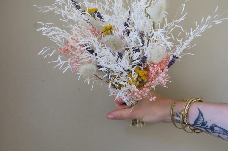 bouquet delavande séchées