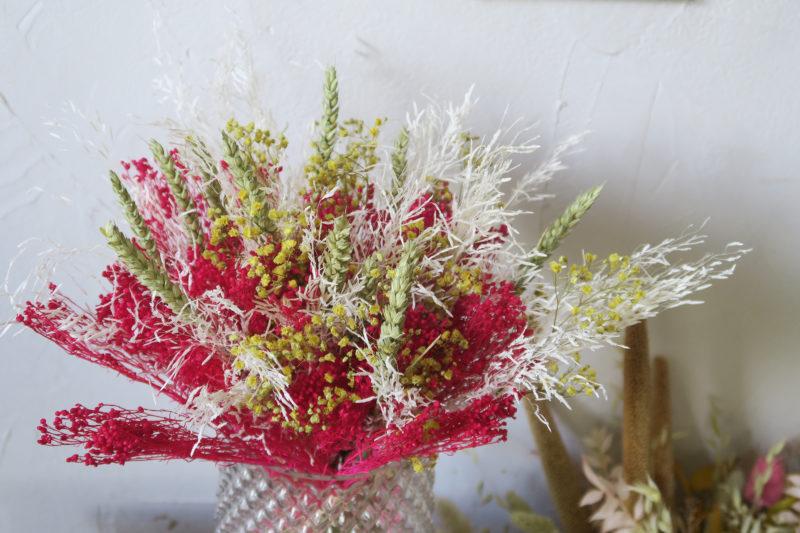bouquet stabilisé rose