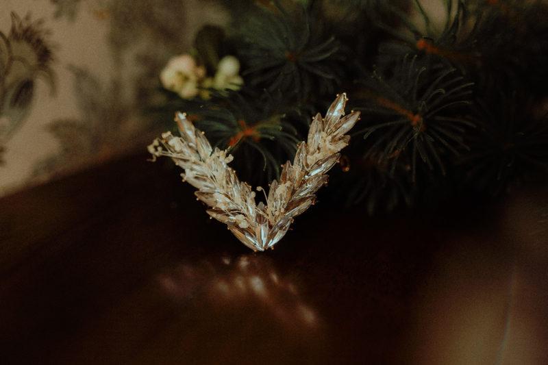 barrette gypsophile blanc