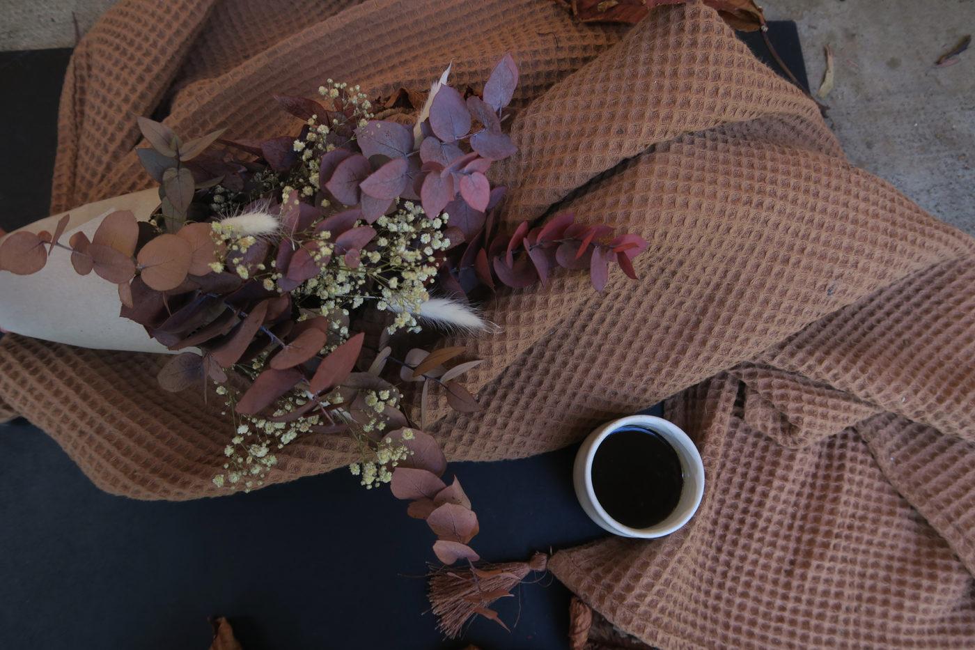 bouquet d'eucalyptus automne