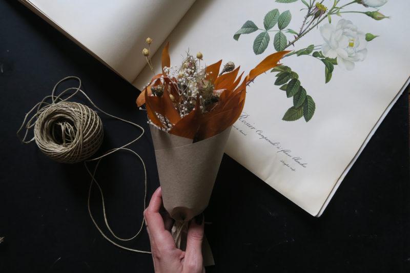 bouquet de fleurs séchées hygge toulouse
