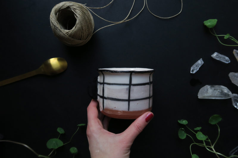 tasse grès artisanat français