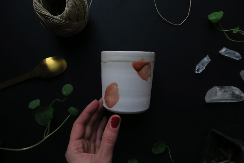 gobelet ceramique française