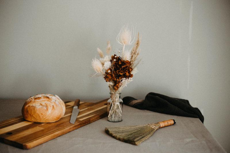 bouquet slow fleurs sechees atelier hosta